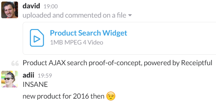 Product AJAX search proof-of-concept, powered by Receiptful